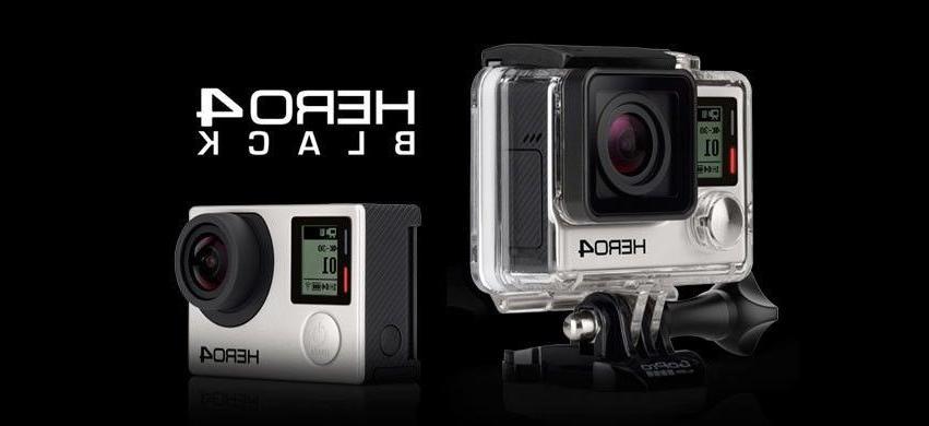 Bundle GoPro HERO4 Black 4K Ultra HD Camera Brand New Pro ca