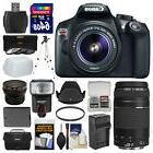 Canon EOS Rebel T6 HD Wi-Fi DSLR Camera & 18-55mm IS II & 75