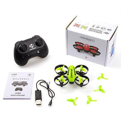 Cheerwing Quadcopter Wifi Drone Altitude Hold Green