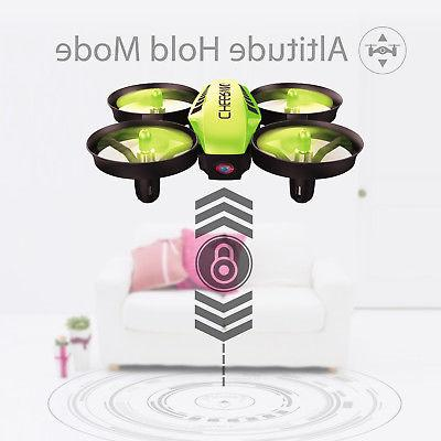 Cheerwing CW10 Mini Quadcopter Wifi FPV Drone Altitude Hold with Green