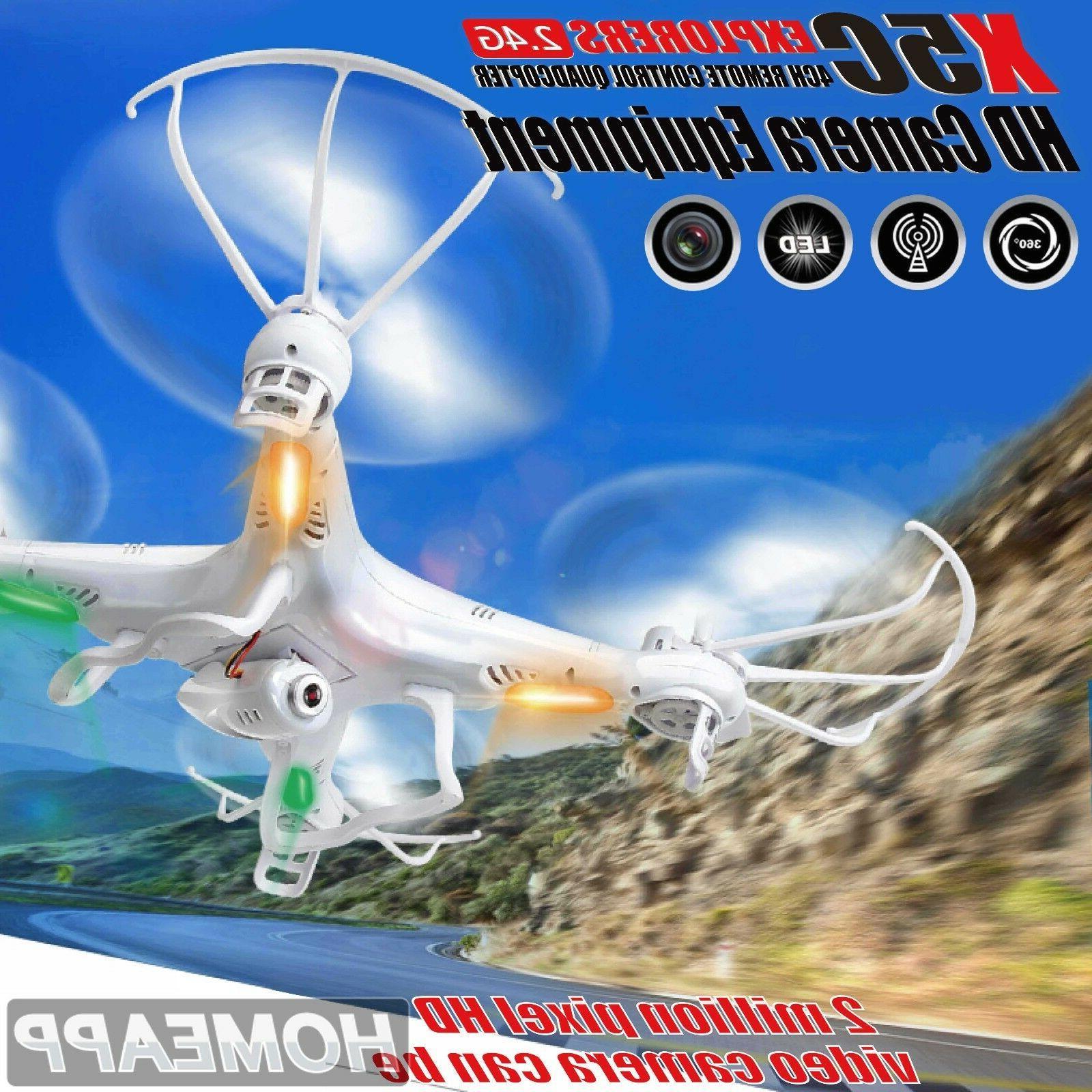 DW X5C Quadcopter Explorers 2.4G 4CH 6-Axis Gyro RC Quadcopt