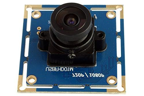 ELP with 2.1mm Lens Hd Free Driver Module Camera,for Linux Mac Os