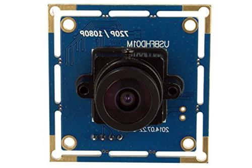 ELP with 2.1mm 1080p Hd Free Module Camera,for Linux Mac