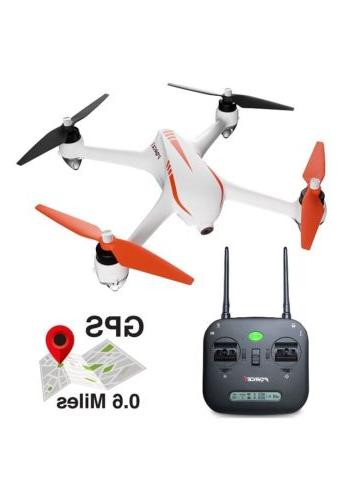 Force1 Specter F200C Drone GPS 1080P HD Camera Brushless Mot