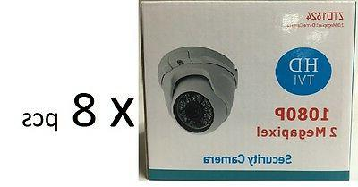 HD TVI 1080P Dome Camera 2MP 1/3 SONY 3.6mm Lens, 18 IR, USA