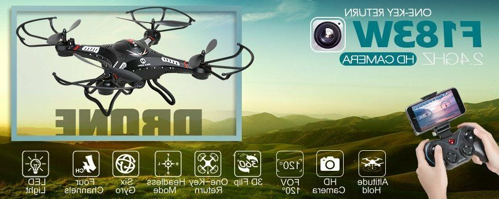 Holy Stone F183W Quadcopter FPV Wide Angle HD Camera Altitud