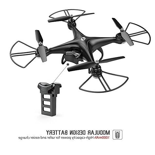 Holy HS110D HD Live 120° with Altitude Mode 3D RTF with Modular Black