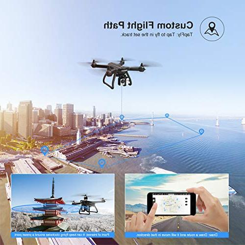 Holy Stone HS700 Drone 1080p Camera Live Video and GPS Home, Quadcopter with Brushless Me, 5G Transmission, Compatible