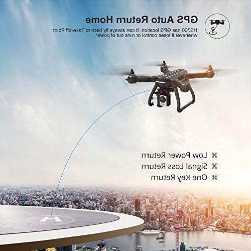 Holy Drone with Camera Live Video and GPS Quadcopter for Adults with Brushless Me, 5G Compatible