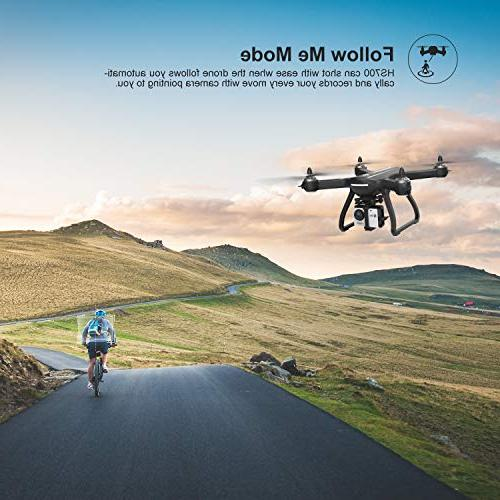 Holy Stone Drone with Camera Live Video GPS Quadcopter Adults with Me, Compatible