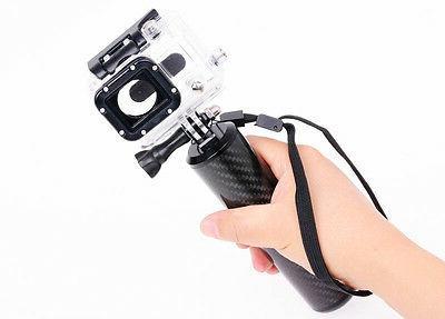 IT-SW-007: Carbon Fiber Handheld monopod Hand Grip for GoPro