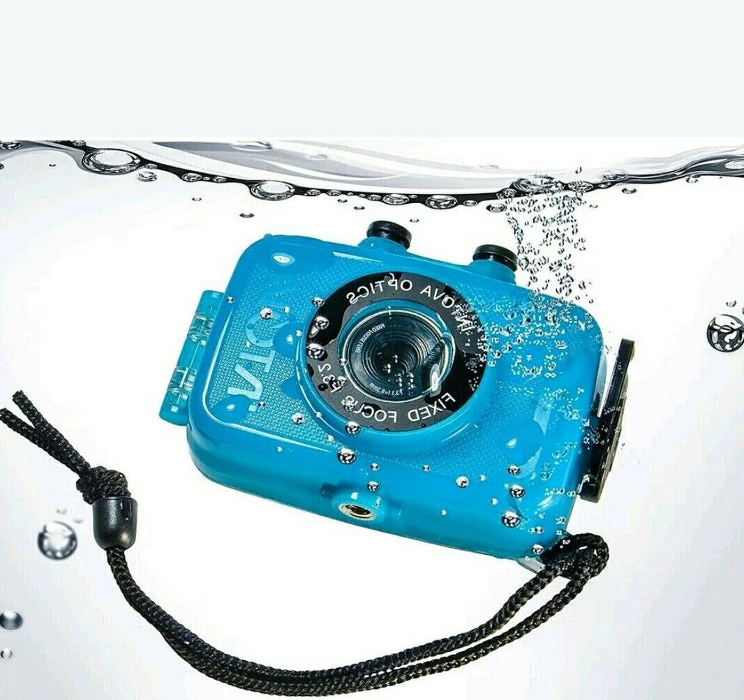 Intova Duo Sport Action Camera HD Waterproof Blue.