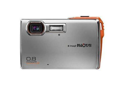 Intova SP8 Sport 8 Waterproof 3x Zoom 8 MP Point & Shoot Dig