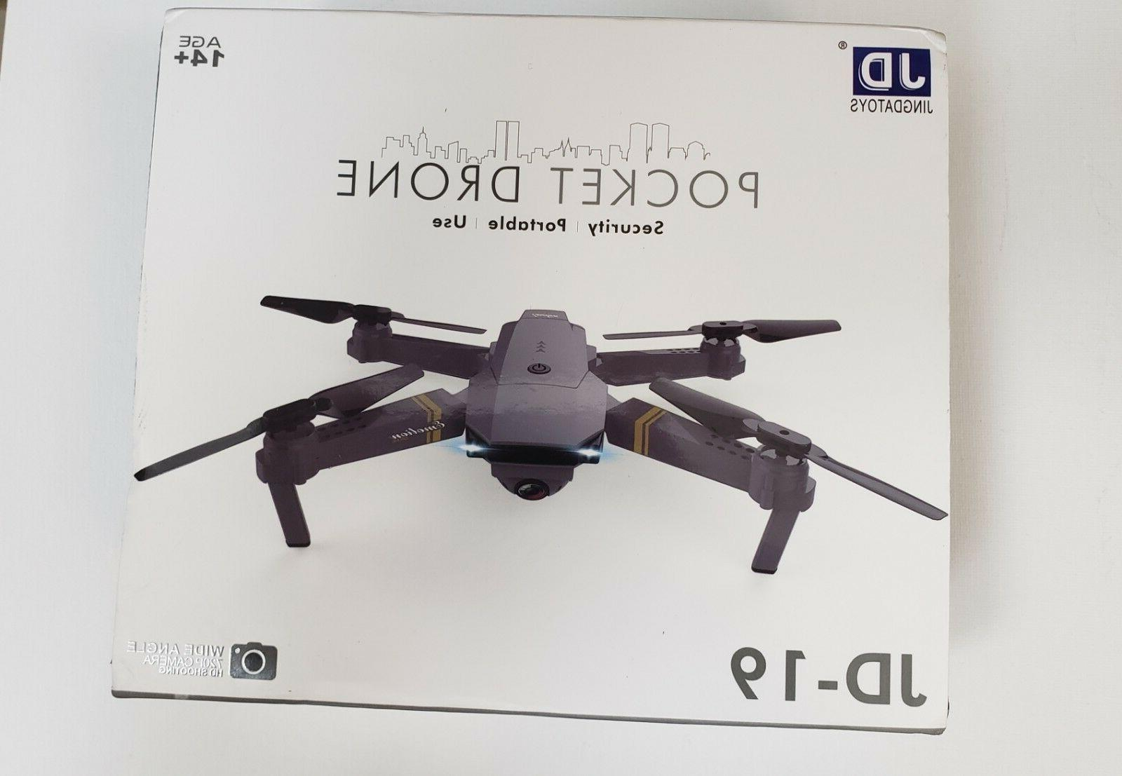 JD-19 Pocket Drone   HD Camera   WiFi   2.4 GHz   6 Axis   3