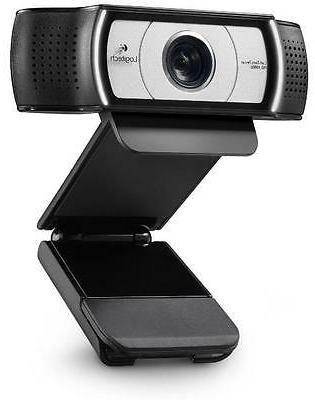 Logitech C930e 1080P HD Video Webcam - 90-Degree Extended Vi