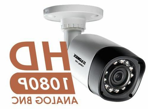 Lorex Original Analog 1080P In/Outdoor Cameras w/ 130' Night Vision