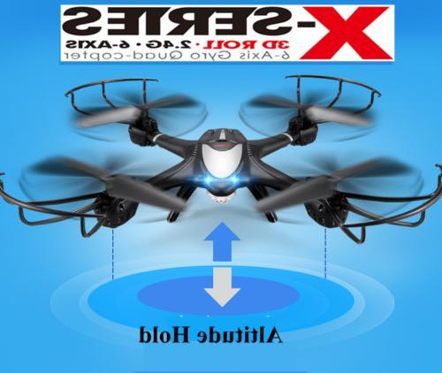 MJX X401H APP FPV Quadcopter RC Drones 2.4G RTF Headless Wit