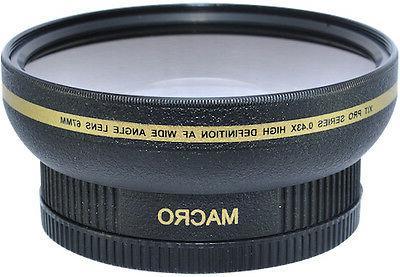 New 72mm HD Wide Angle FISHEYE Macro Lens for Nikon DSLR CAM