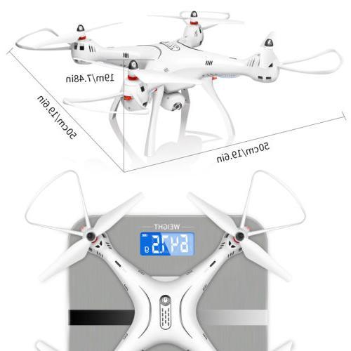 SYMA RC Drone with HD Camera FPV Return RC