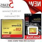 SanDisk Extreme 128GB CompactFlash Memory Card