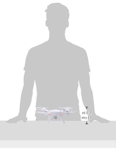 Syma 4CH 6-Axis Gyro Headless Quadcopter with 0.3MP HD WiFi