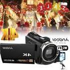 "WiFi Ultra 4K HD 48MP 3"" Touch Screen Digital Video Camera D"