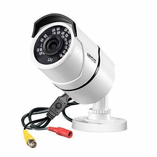 ZOSI 1.0MP HD 720p 1280TVL Outdoor/Indoor Security Camera ,3