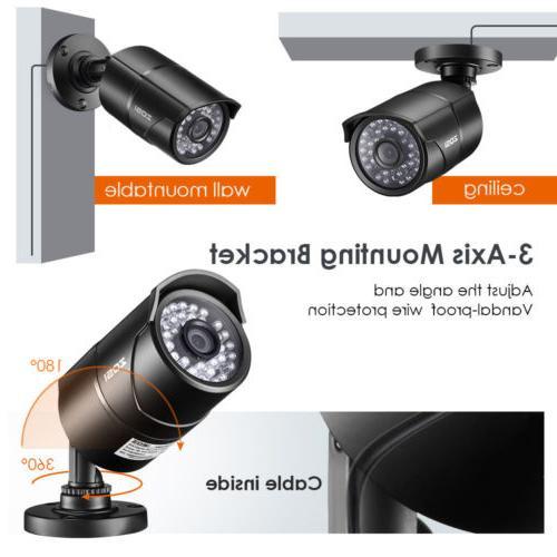 ZOSI 4 4in1 CCTV System