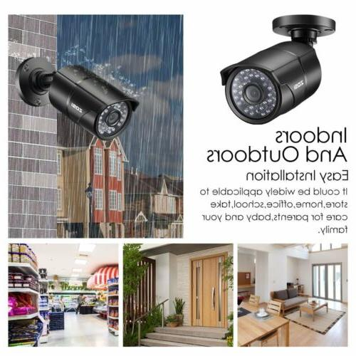 ZOSI PACK 4in1 HD CCTV Security Surveillance