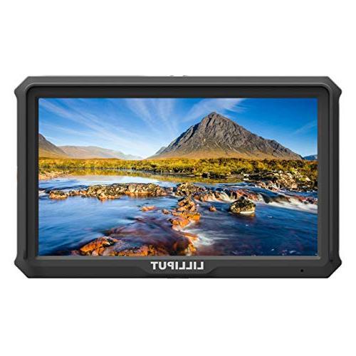 Lilliput 1920x1080 441ppi DSLR Screen Field Monitor 4K Output with Canon Nikon A7S A9 TILTA