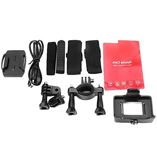 Vemont Action 12MP Sports Camera HD 2.0 Cam Camera with Mounting Kit