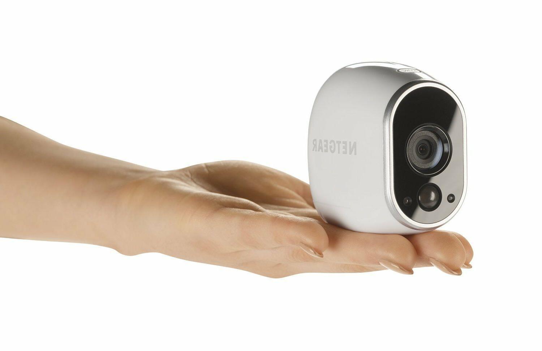 Arlo Security 4 Wire-Free Cameras, Indoor/Outdoor Night