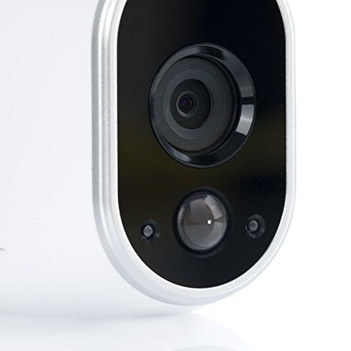 Arlo - Wireless Security Motion Night vision, Indoor/Outdoor, HD Video, Wall Mount Storage   6 camera