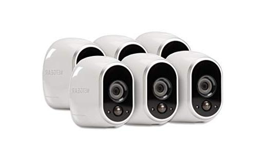 Arlo Security System Motion vision, Wall Storage camera kit - Eco Packaging