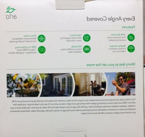 Netgear Arlo Security with Cameras (VMS3430
