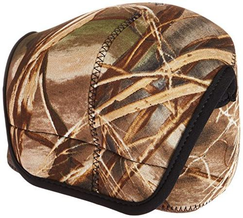 bodybag camouflage neoprene lens protection