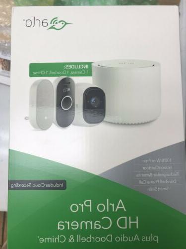brand new arlo pro hd camera system