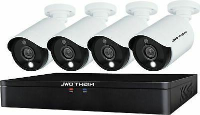 Night HD 1TB Security Camera 4 Cameras