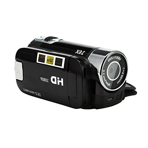 camcorder rotatable zoom