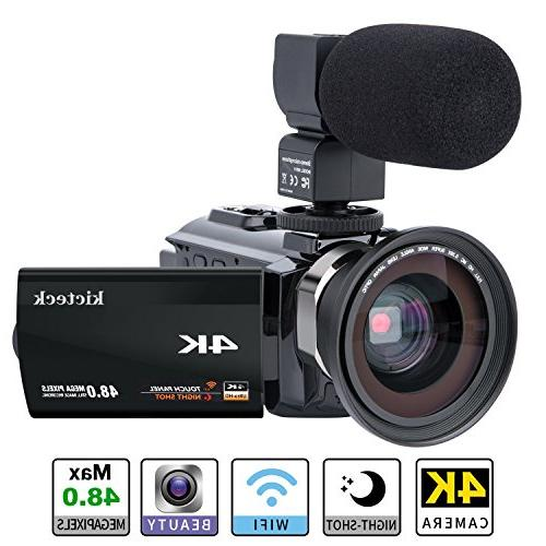 camcorder ultra touch night vision