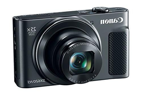 Canon PowerShot Digital Camera w/25x Optical - Enabled - Card Bundle