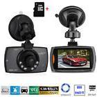 "1080P 2.7"" HD LCD Car Dash Camera Video DVR Cam Recorder Nig"