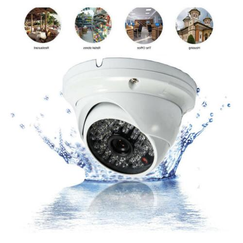CCTV 1080P HD Waterproof Wide Security IR-CUT for AHD Video