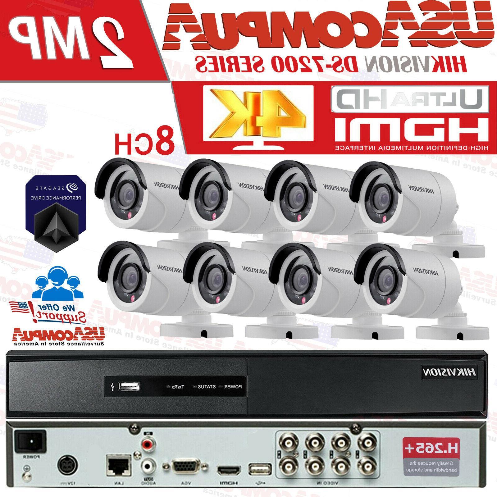 cctv security camera system kit 8ch turbo
