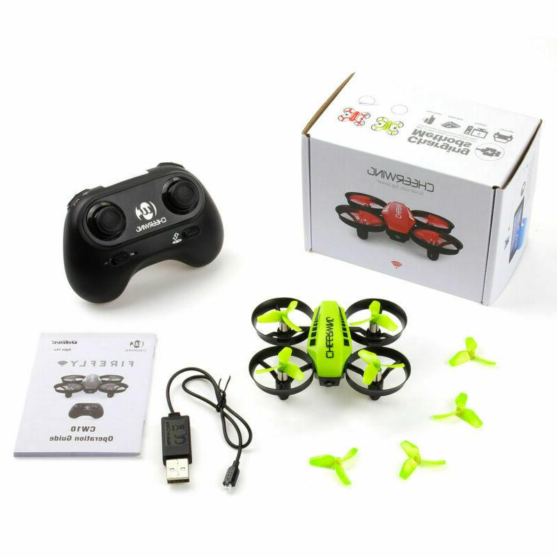 Cheerwing Mini Drone RC Wifi Headless FPV+HD Camera
