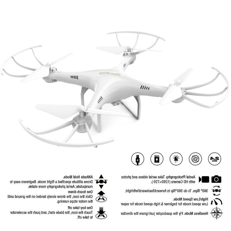Cheerwing CW4 2.4Ghz RC Quadcopter 720P HD Drone