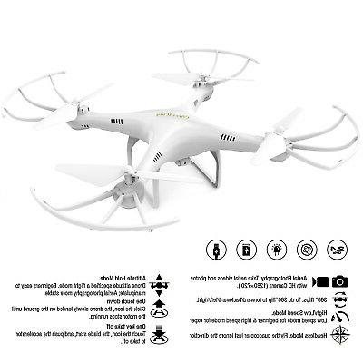 Cheerwing CW4 2.4Ghz RC HD Camera + batteries