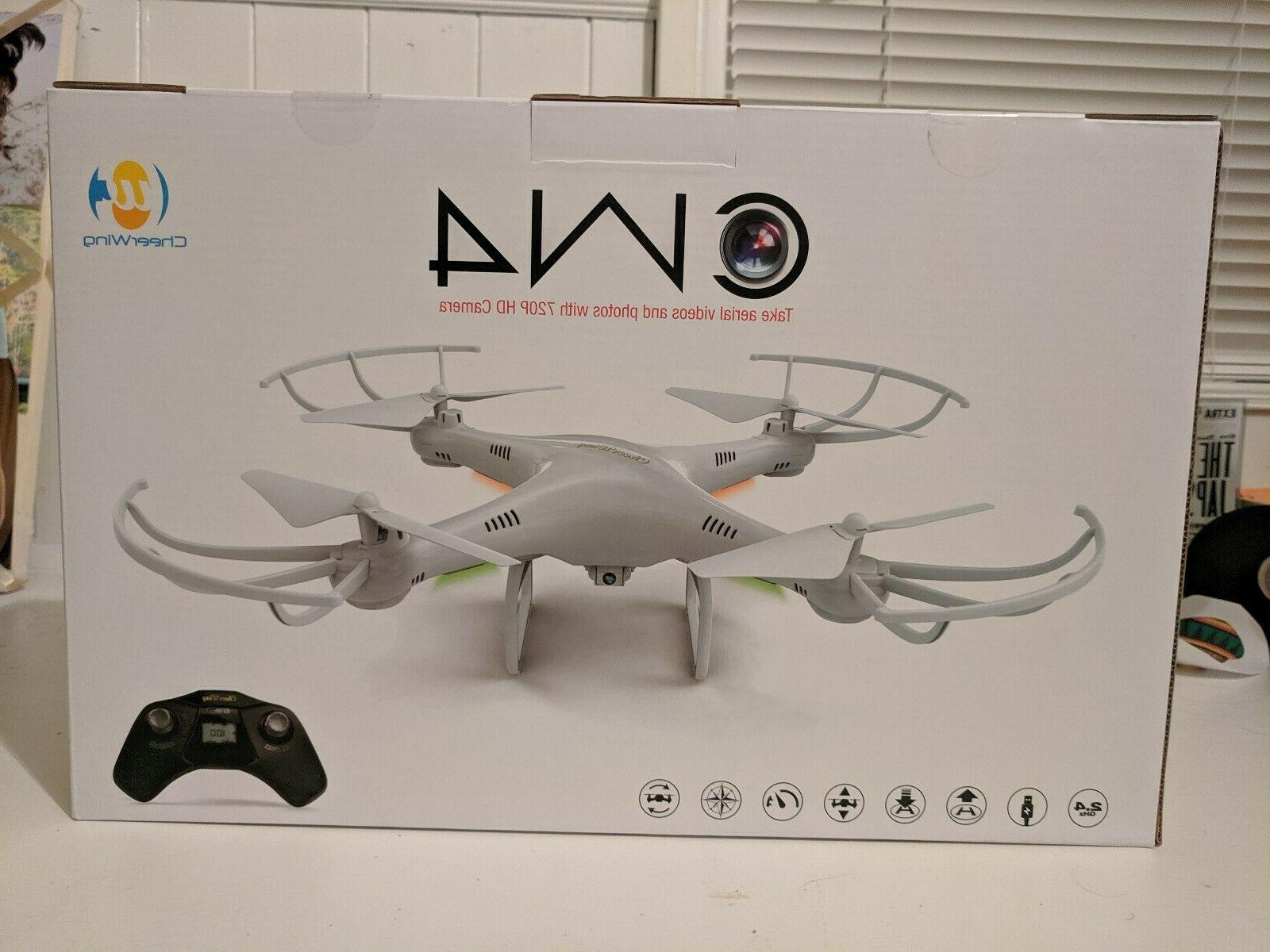 cw4 aerial drone with 720p hd camera
