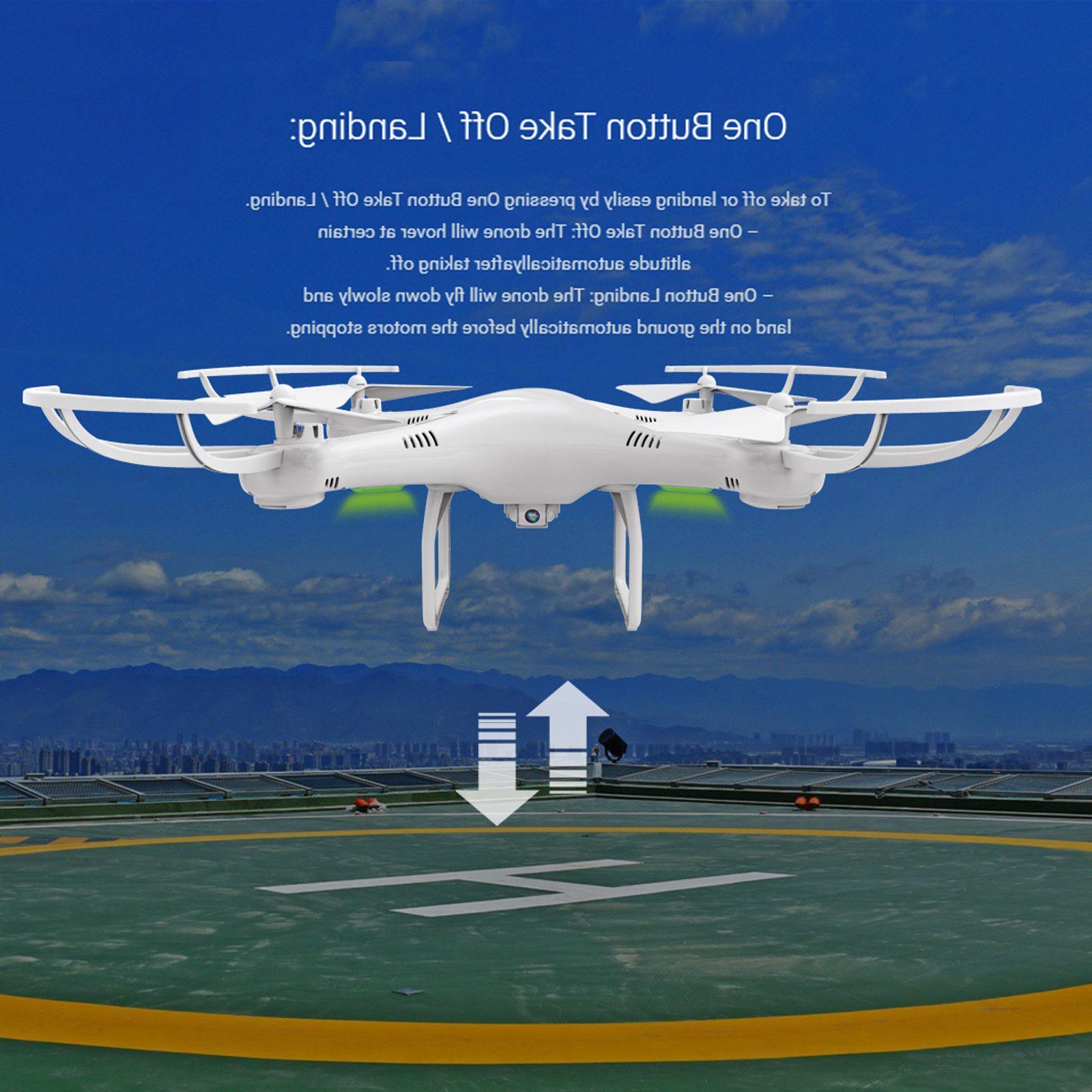 6 Batteries CW4 RC Drone 720P