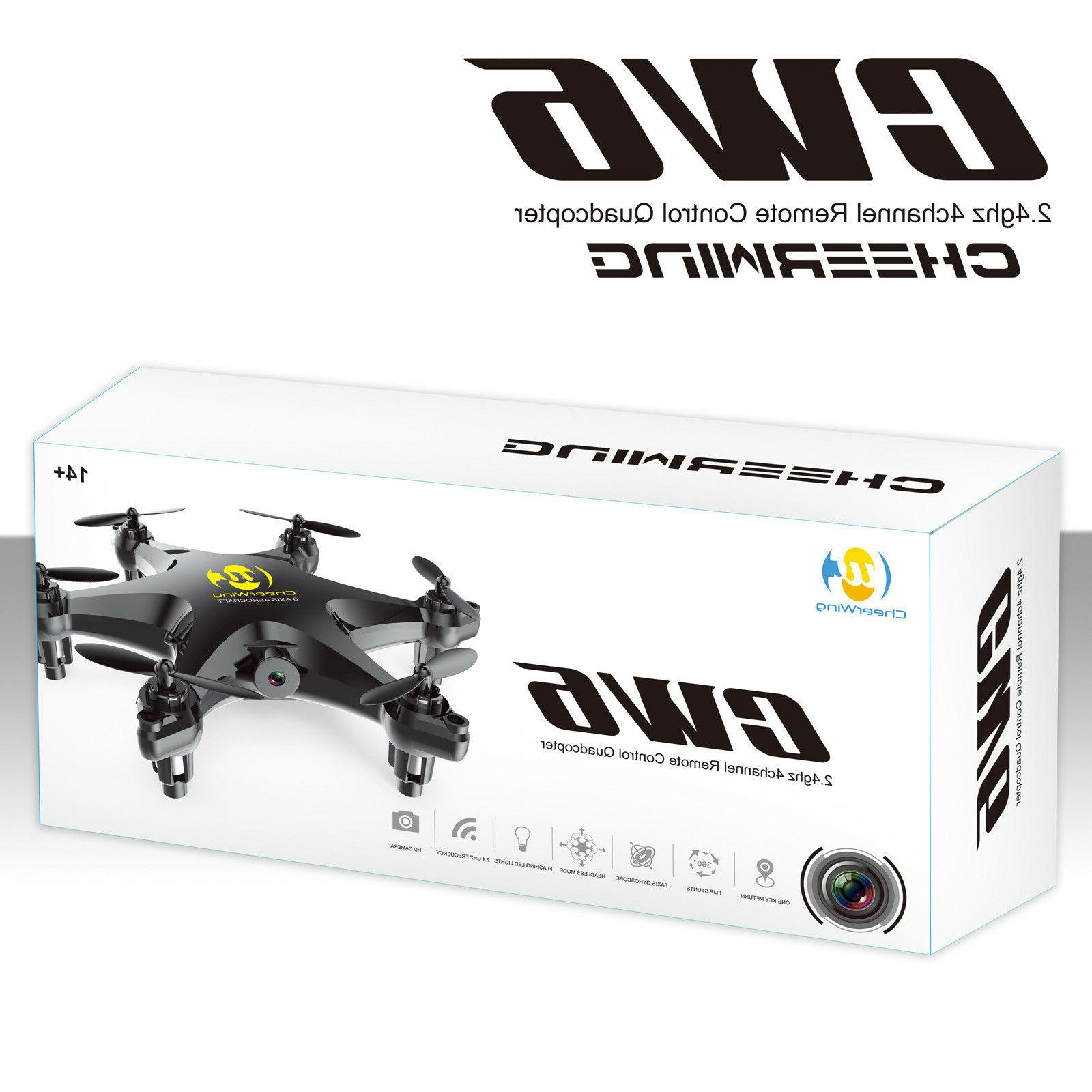 Cheerwing 6-Axis Remote Quadcopter Drone 2MP Camera